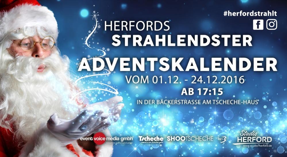 Herford strahlendster Adventskalender