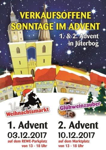Verkaufsoffene Sonntage im Advent