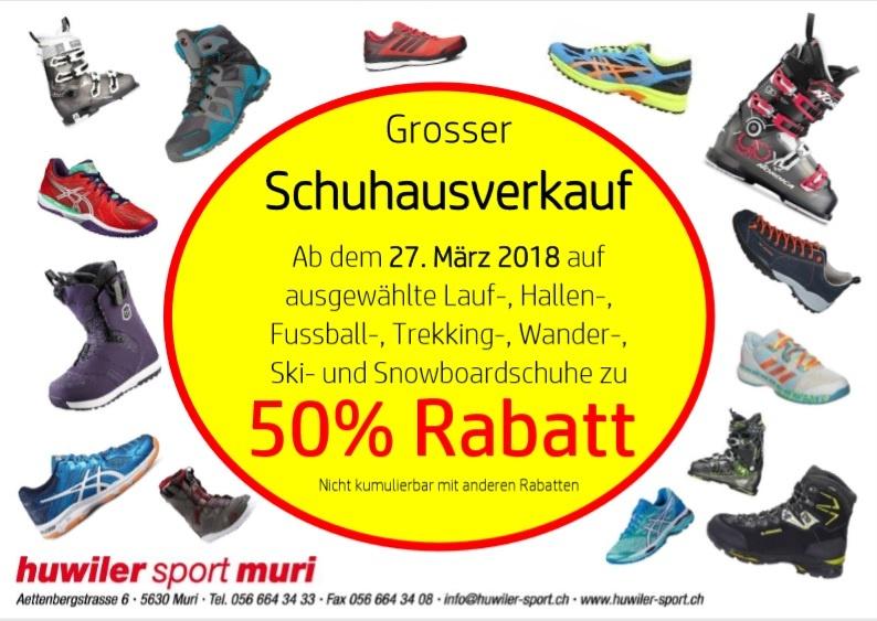 Schuhausverkauf