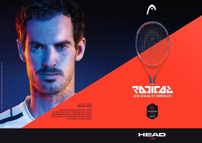 Head Graphene Touch Radical