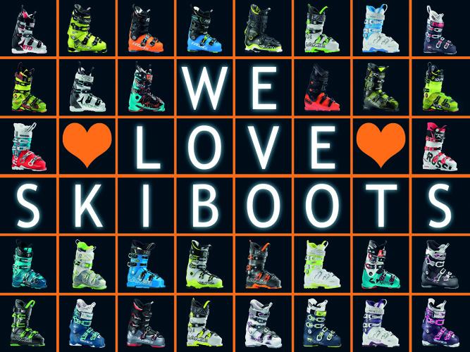 We love Skiboots