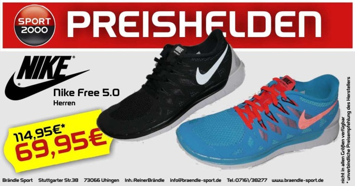 Nike Free 5.0 Herren