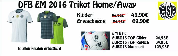 DFB Trikot Banner neu