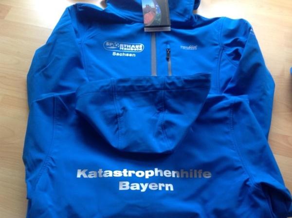 Softshelljacken mit Kaputze/Sport2000