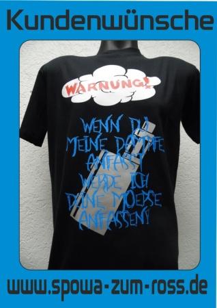 Kundenwunsch Dampfer-Shirt