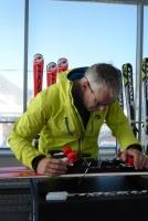 Vorbereitung Ski Test