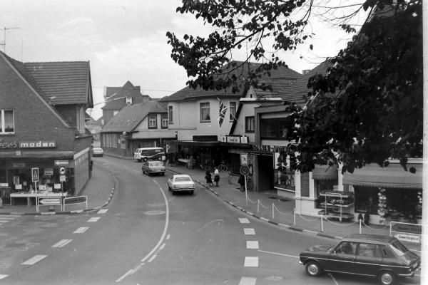 Steintorstraße 11, kurz vor dem Abriss