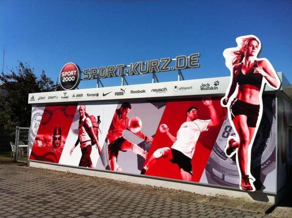 Das Gelände von Sport Kurz Heusenstamm