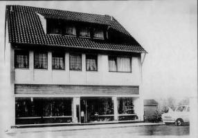 Neubau am alten Rosbacher Friedhof