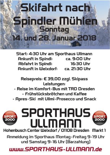 Skifahrten Spindlermühlen 2018