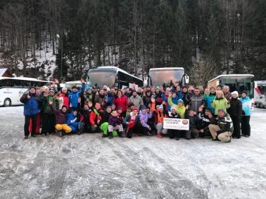 Skifahrt Spindlermühlen 14.01.2018