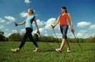 Laufen und Nordic-Walken