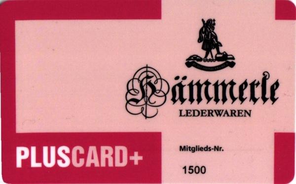Die PLUS CARD+ bei Lederwaren Hämmerle