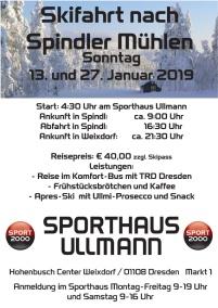 Skifahrten Spindlermühle 2019