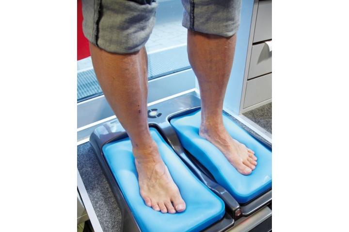 Fuß-Abdruck