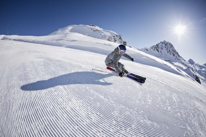 Eine Woche im Skiurlaub