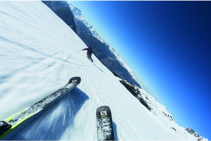 Moderne Ski...