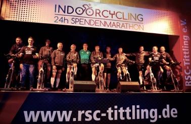 24h-Indoorcycling Spendenmarathon 2019