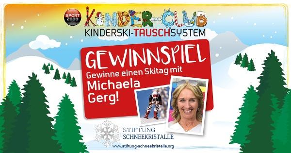 Gewinnspiel mit Michaela Gerg