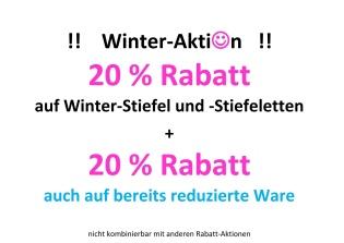 Winter - Angebote