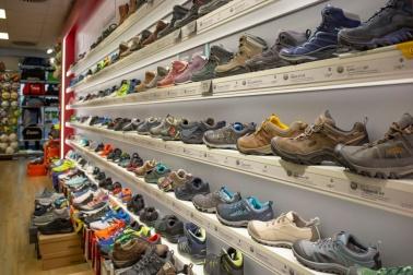 Große Schuhauswahl