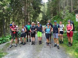 Wanderwochenende mit unserem Wanderguide Kastler Manfred
