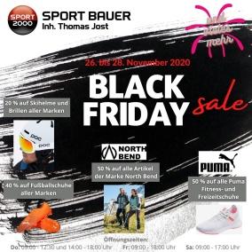 Black Friday bei Sport Bauer