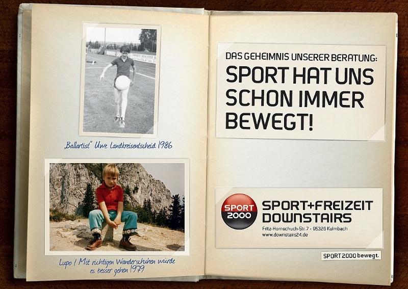 Sport hat uns schon immer bewegt!