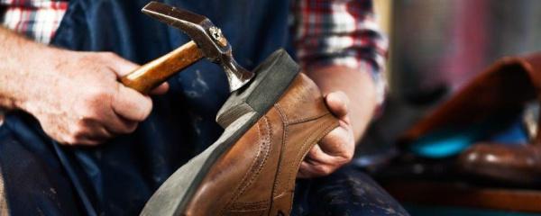 Schuhreparaturen und Schuhreinigung