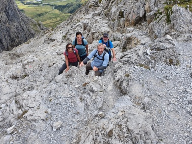 Bergtour Kleinwalsertal 2021