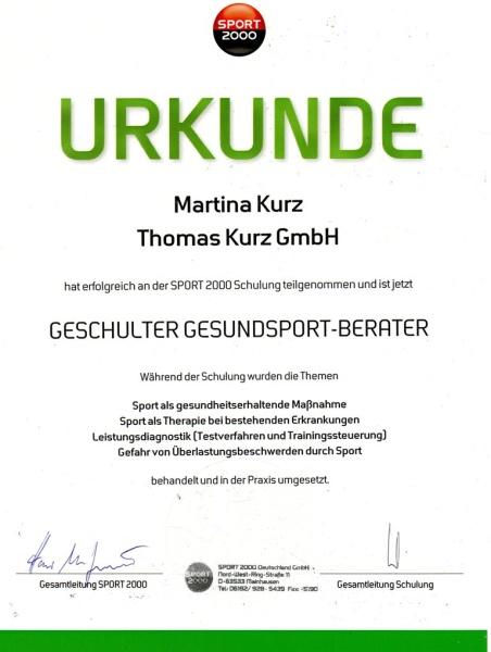 Martina Kurz