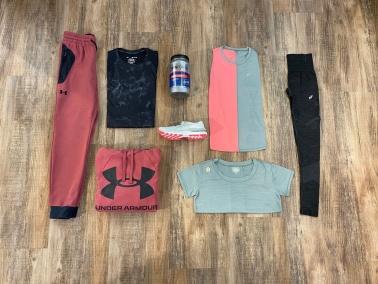 Fitness und Runningbekleidung