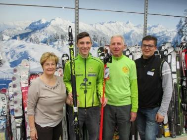 Profi-Sport Markmiller sponsert Biathleten Soran Aksoy