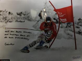 Ski-Profi Günter Lang bedankt sich bei Sport Weber