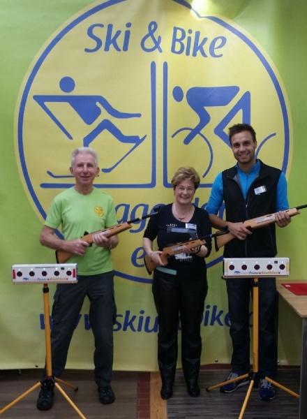 Markmiller-Biathlon mit Ski & Bike