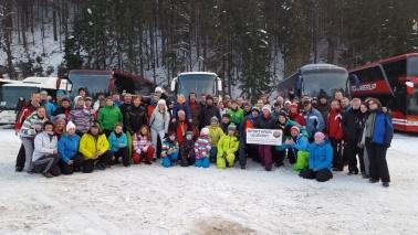 Skifahrt nach Spindler Mühlen 24.1.2016