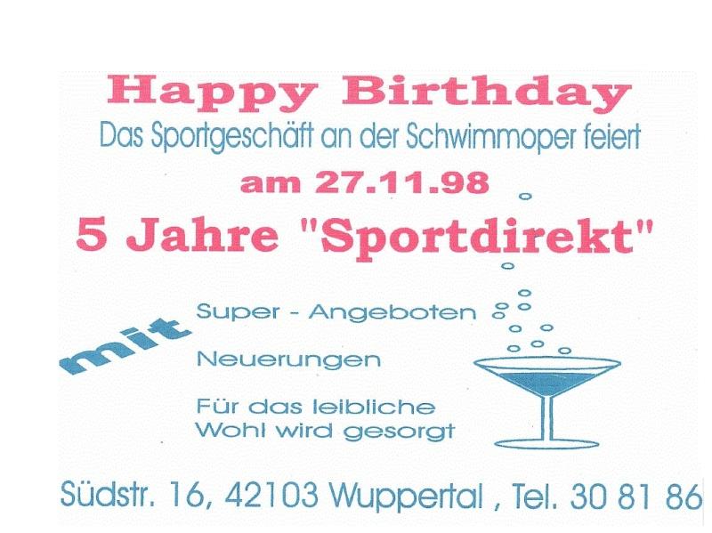 5 Jahre Sportdirekt