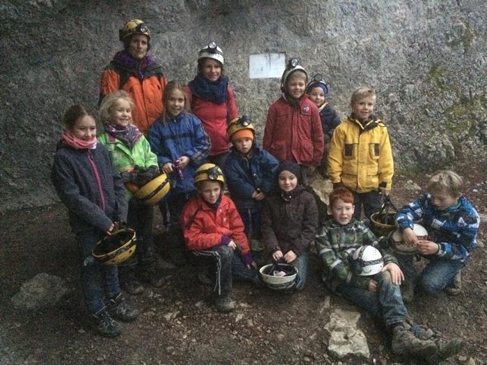 Höhlenabenteuer für Gruppen