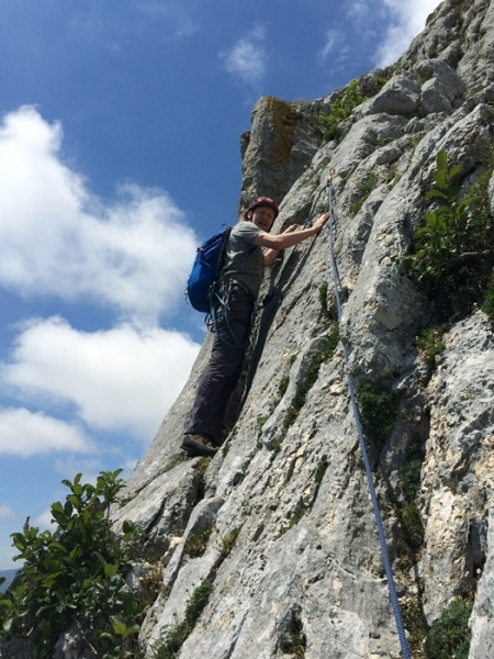 Outdoor-Kletterkurs Stufe 3