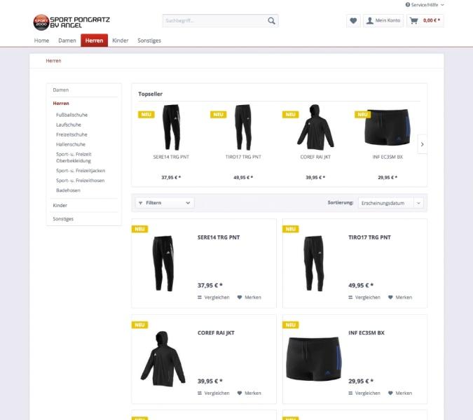 Unser neuer Shop ist online