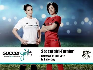 Soccergirl-Turnier am 15.07.17