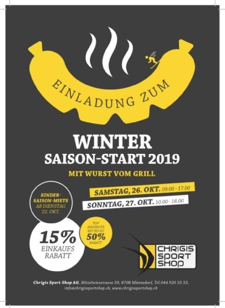 Winter-Saisonstart