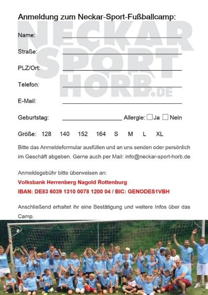 Neckar-Sport Fußballcamp