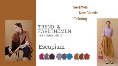 Trend & Farbthemen Herbst / Winter: Escapism