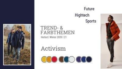 Trend & Farbthemen Herbst / Winter: Activism