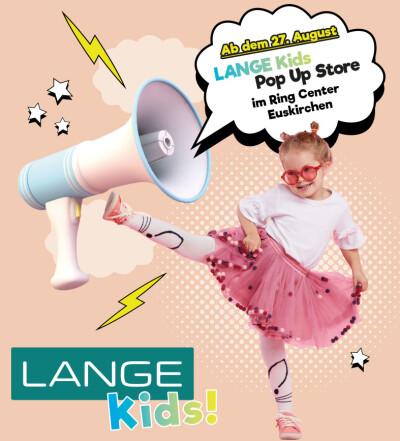 Lange Kids Pop Up Store