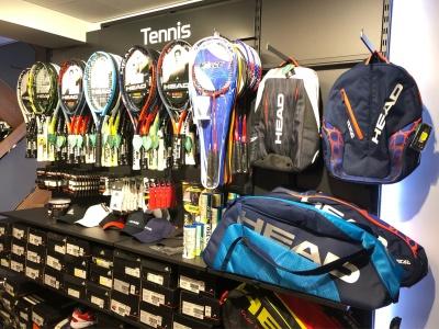 Tennisbesaitung