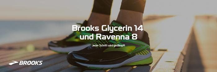Brooks Glycerin 14 und Ravenna 8