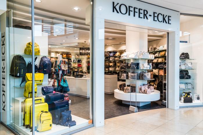 Koffer-Ecke-Eingang