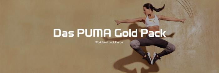 Das PUMA Gold Pack